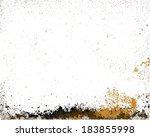 grunge frame texture. vector... | Shutterstock .eps vector #183855998