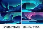 illustrations of aurora...   Shutterstock .eps vector #1838576956