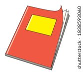 Red Book Vector Illustration...