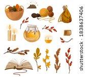 Cozy Autumn Set. Fairy Tale...