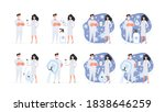 set for a poster or... | Shutterstock .eps vector #1838646259