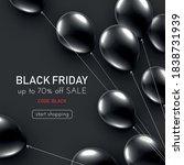 black friday dark background...   Shutterstock .eps vector #1838731939