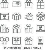gift box icon illustration... | Shutterstock .eps vector #1838775526