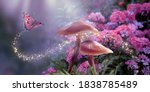Fantasy Magical Mushrooms And...