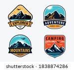 mountains set labels....   Shutterstock .eps vector #1838874286
