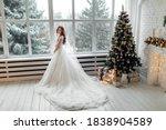 Luxury Bride In Wedding Dress...