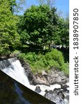 Yantic Falls Indian Leap in Norwich, Connecticut