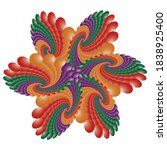 Mandala  Colorful Fractal...