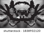 distressed background in black...   Shutterstock .eps vector #1838932120