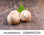 Fresh Brown Mushrooms...