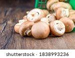 Champignon Mushrooms Poured...
