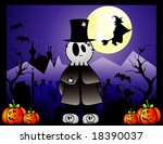 halloween killer vector... | Shutterstock .eps vector #18390037