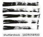 flat fan brush thin straight... | Shutterstock .eps vector #1839058900