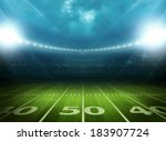 light of stadium | Shutterstock . vector #183907724