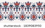 ikat geometric folklore... | Shutterstock .eps vector #1839083950