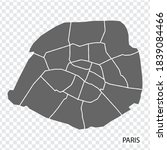 high quality map of paris is a...