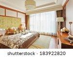 modern master bedroom interior | Shutterstock . vector #183922820