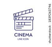 movie clapperboard or film...