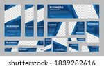 set of abstract web banners of... | Shutterstock .eps vector #1839282616