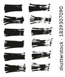 flat fan brush thin straight... | Shutterstock .eps vector #1839307090