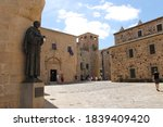 A Square Of The Old City Of C...