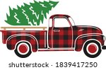 Red Buffalo Plaid Truck ...