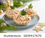 Olivier Salad Tartlets....