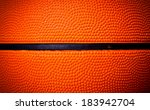 Close Up Of Basketball Skin...