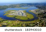 Aerial View Of Knysna In The...