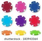 illustration of the nine... | Shutterstock .eps vector #183943364