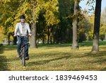 smiling mature caucasian man in ...   Shutterstock . vector #1839469453