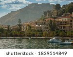 Panorama view of Nafplion old town, Peloponessos, Greece
