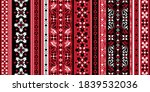 seamless pattern based on... | Shutterstock .eps vector #1839532036