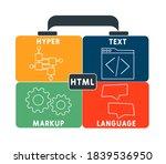 html   hyper text markup...   Shutterstock .eps vector #1839536950