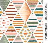 ethnic tribal argyle seamless... | Shutterstock .eps vector #1839556153