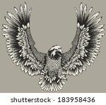 eagle | Shutterstock .eps vector #183958436