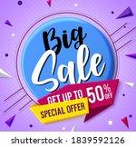 big sale vector concept banner... | Shutterstock .eps vector #1839592126