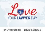 love your lawyer day background ...   Shutterstock .eps vector #1839628033