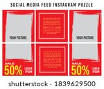 banner puzzle post feed social...   Shutterstock .eps vector #1839629500