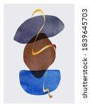 abstract contemporary modern... | Shutterstock .eps vector #1839645703