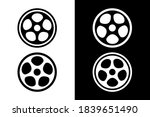 circles and hole inside.very... | Shutterstock .eps vector #1839651490
