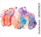 splash of brush shades... | Shutterstock .eps vector #1839655819