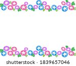 cute and cool morning glory | Shutterstock .eps vector #1839657046