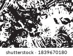 grunge texture black and white... | Shutterstock .eps vector #1839670180