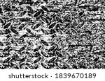 the grunge texture is black and ... | Shutterstock .eps vector #1839670189