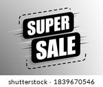 super sale and special offer.... | Shutterstock .eps vector #1839670546