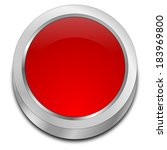 red blank button | Shutterstock . vector #183969800