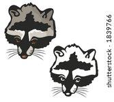vector illustration of a badger. | Shutterstock .eps vector #1839766