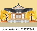 vector of hanok  korean... | Shutterstock .eps vector #1839797269