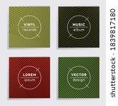 digital vinyl records music... | Shutterstock .eps vector #1839817180